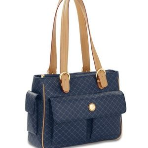 RIONI Signature (Navy blue) Accessory Shoulder Bag
